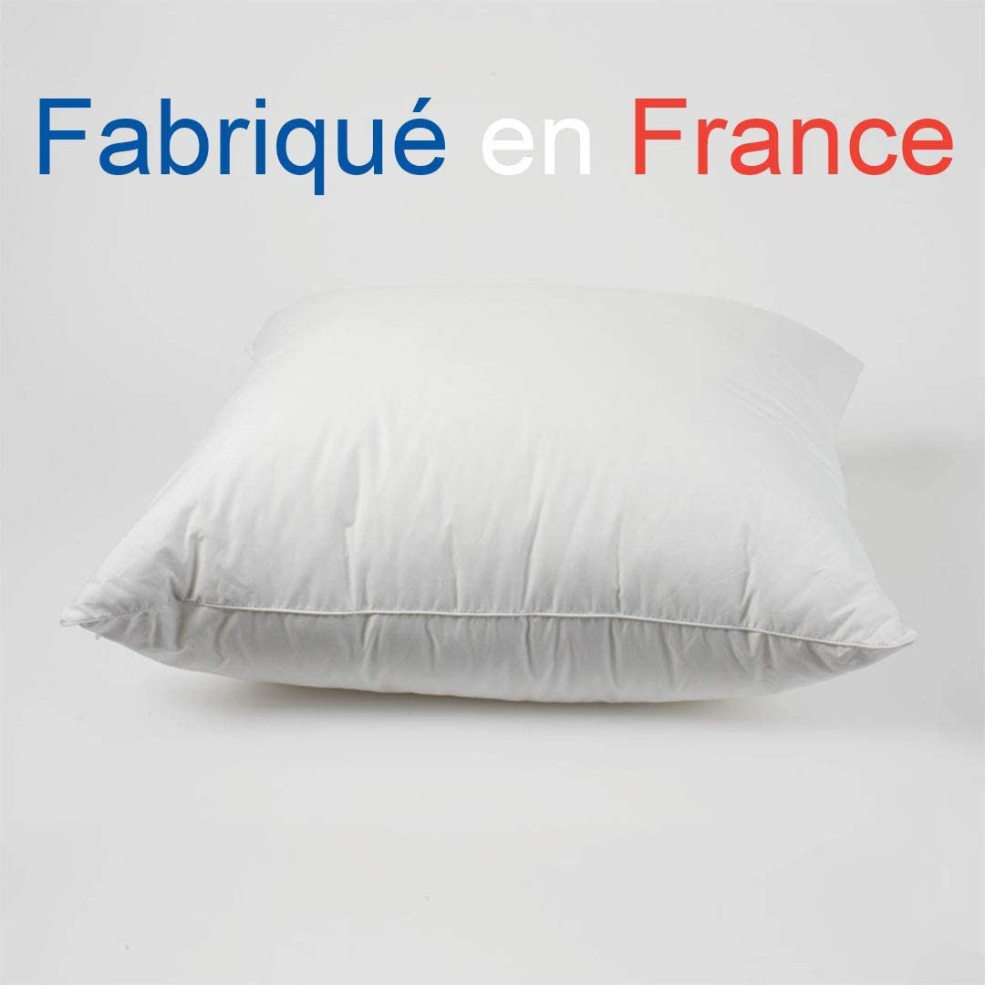 Artapisserie.fr Coussin /à Recouvrir 45 x 45 cm Garnissage Doflex Blanc