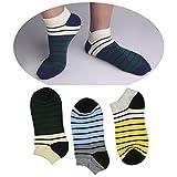 DMSocks Liner No Show Ankle Socks Best Cotton (Pack Of 3) Socks For Men