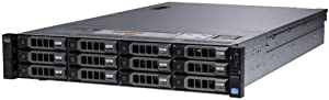 Dell PowerEdge R730XD 12 x 3.5 Hot Plug E5-2630 V3 Eight Core 2.4Ghz 16GB H730 (Renewed)