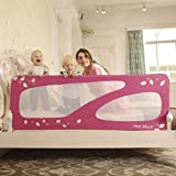 Portable Double Side Bedrail, 150cm , pink
