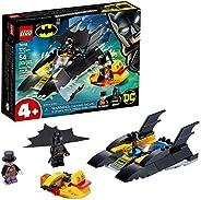 LEGO DC Batboat The Penguin Pursuit! 76158 Top Batman Building Toy for Kids, with Super-Hero Minifigures, 2 Bo
