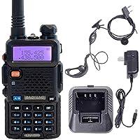 Black UV 5R VHF/UHF 136-174/400-480 MHzFM Dual Band Two Way Radio Talkie