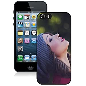 NEW DIY Unique Designed iPhone 5s Generation Phone Case For Beauty Eyes Closed Phone Case Cover