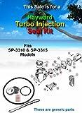 Hayward TURBO INJECTION Pool Pump Seal & O-ring Kit