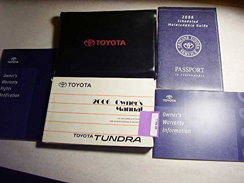 2006 Toyota Tundra Owners Manual