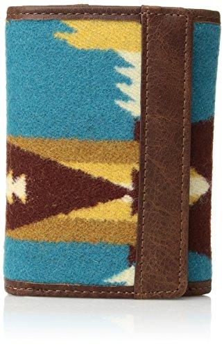 Pendleton Men's Trifold Wallet, Tucson Turquoise, One Size by Pendleton (Image #1)