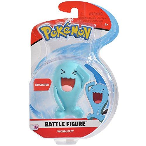 Pokemon 3 Inch Wobbuffet Articulated Battle Action Figure