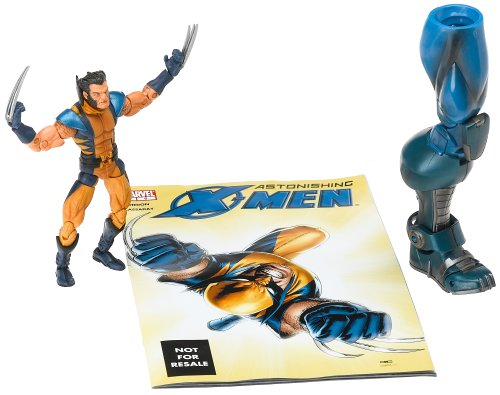 Marvel Legends Apocalypse Series Wolverine (unmasked variant) -