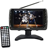 Portable 7 Inch LCD Digital HD Television TV Review and Comparison