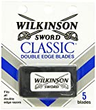 Wilkinson Sword Double Edge single Razor Cartridge, 20 blades