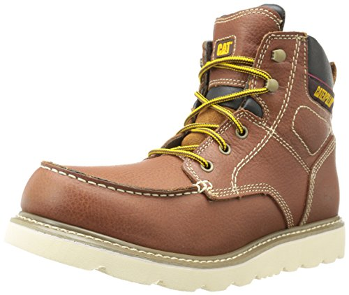 - Caterpillar Men's Alloy Work Boot,Yellow/Tan,11 M US