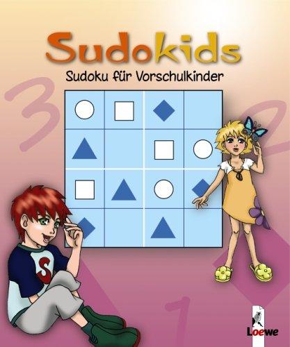 Sudoku für Vorschulkinder. Pink