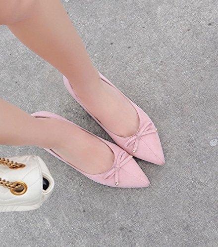 De Bureau De Talon Les Mee Des Patinage Sur Mi Rose Escarpins Femmes Chaussures fwOqx6xnt