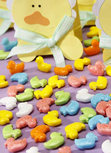 B.A.SWEETIE CANDY COMPANY 1405-067 Duck Shape 10Oz Stewart Multi Candy Coated Finish