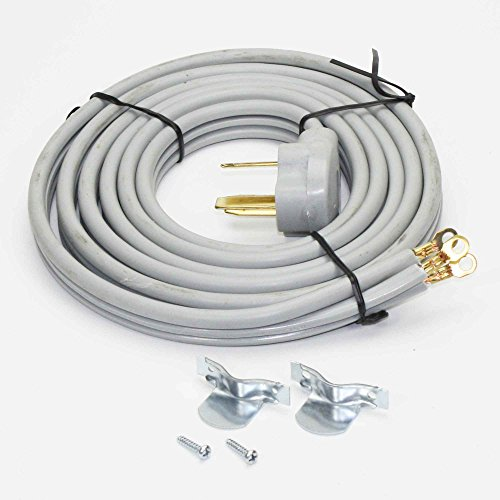 RC3-40-10 Range Stove Oven Power Cord | 3 Wire | 10 Feet Long | 40A ()