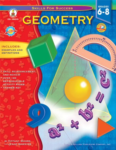 Geometry, Grades 6 - 8 (Skills for - Frank Graphing Schaffer