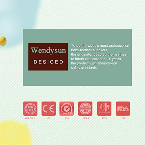 Wendysun 100PC 12mm Premium Round Silicone Loose Bead for Baby Sensory Teethers, Nursing Necklaces, Bracelets and Fashionable Jewelry | Chewing Beads (14)