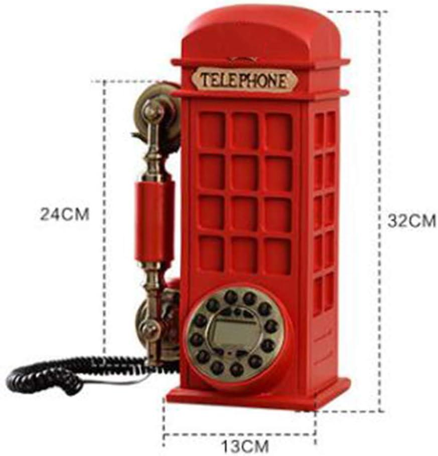 Retro Landline Phone Fashion Creative Personality Nordic Home Vintage Fixed Telephone
