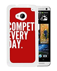 Compete (2) Durable High Quality HTC ONE M7 Phone Case