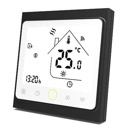 Termostato de agua programable de Wifi Controlador de temperatura de la pantalla LCD que funciona con