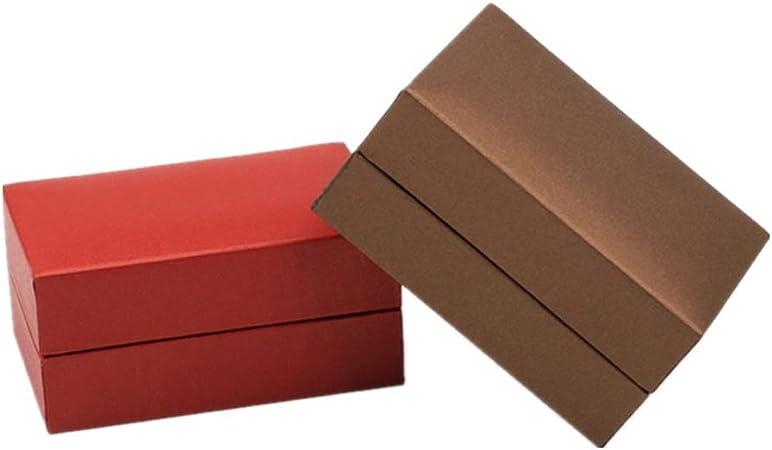 Cajas Carton Regalo Cajas Regalo Carton Pequeñas Cajas de cartón Cuadrado Caja de joyería Pequeñas Cajas de Regalo para Joyas 2pcs