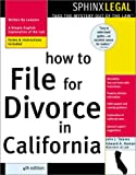How to File for Divorce in California, John Talamo and Edward A. Haman, 1572483377