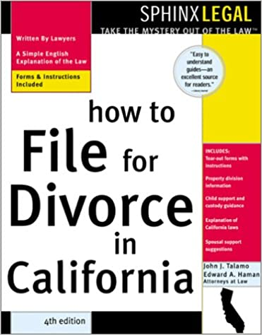 How to File for Divorce in California (Legal Survival - Books