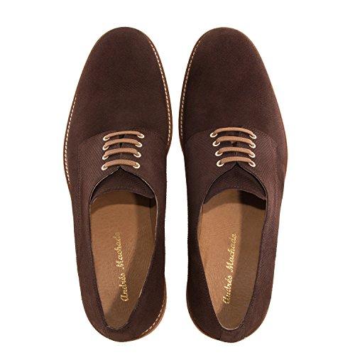 a Spain Machado de Made 47 Serraje Oxford Piel la IN Tallas Zapatos Caballero la y Gmarron Andres 6188 Grandes 50 FOqxCAwUnU