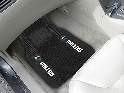 picture of FANMATS NBA Dallas Mavericks Nylon Face Deluxe Car Mat