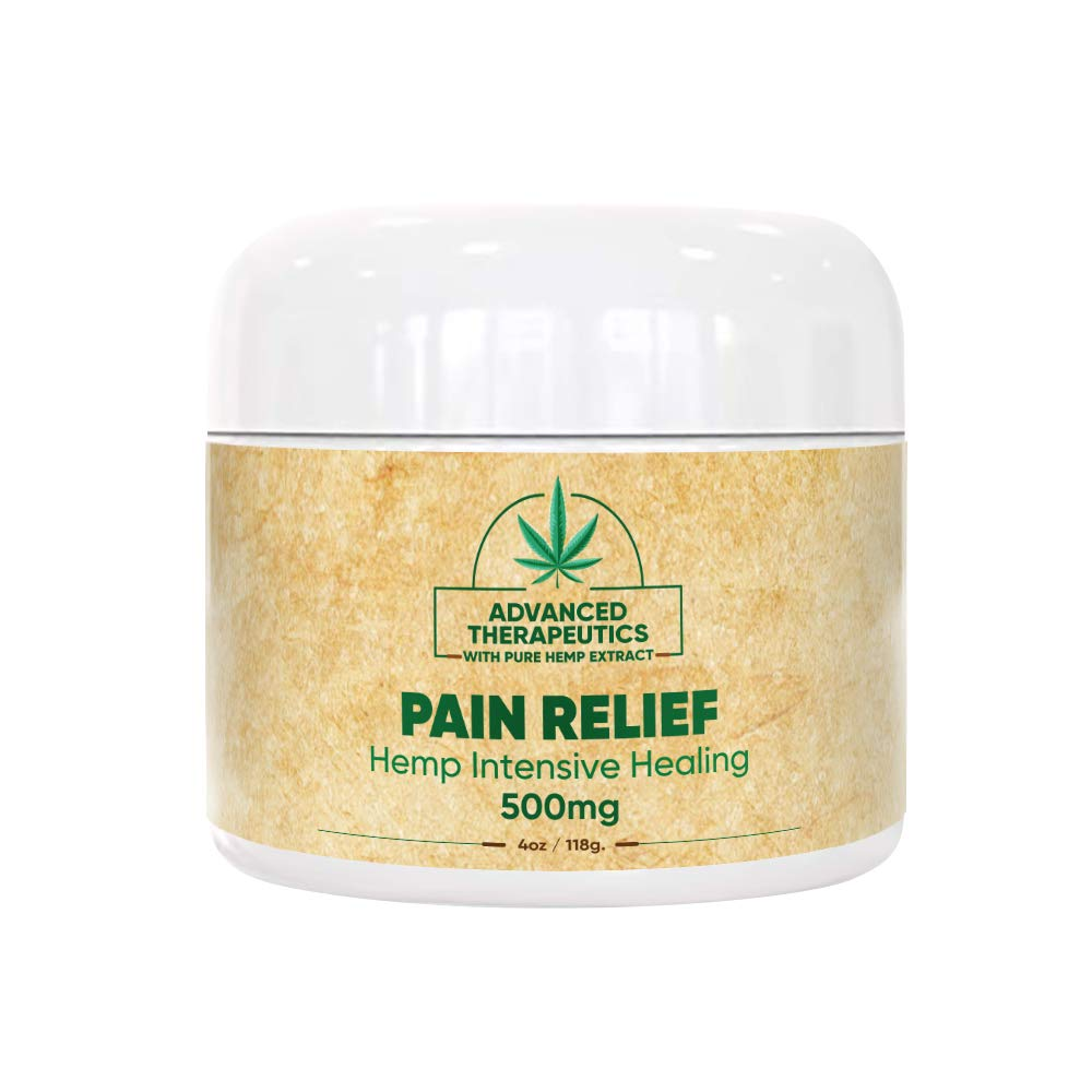 500MG 4 Ounce Hemp Cream for Fast Pain Relief Double The Size and Power of All Other Arnica Cream Infused with 500 MG of Hemp Oil for Pain Relief of Knee Pain, Back Pain,Neuropathy by Advanced JOINT PAIN SUPPORT