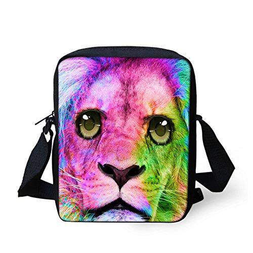 Y bandoulière CC3047E HUGS Lion IDEA Sac femme petit Noir pour chat pwqHZ5Iqxc