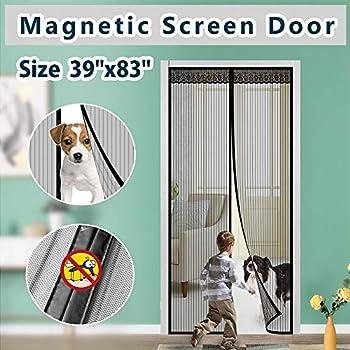 Upgrade Version Magnetic Screen Door Ikstar Fiberglass