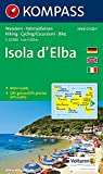 Isola d' Elba: Wander-, Rad- und Seekarte mit Aktiv Guide. GPS-genau. 1:25000. (KOMPASS-Wanderkarten, Band 2468)