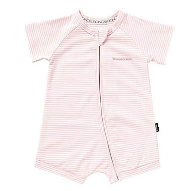 d82a3298cb Bonds Zip Romper Pink White: Amazon.co.uk: Clothing