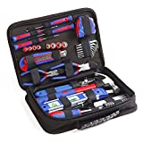 Tool Kit. Best Portable Big Basic Starter Professional Household DIY Hand Mixed Repair Set W/Storage Bag For Home, Garage, Office For Men, Women. Includes Screwdriver, Wrench, Sockets, Pliers, Etc.