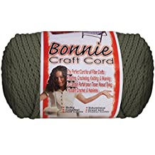 Bonnie Macrame Craft Cord 4Mmx100yd-Smoke Gray