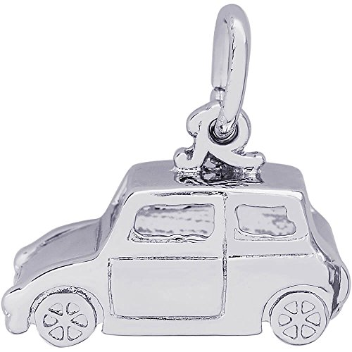 Rembrandt Charms Car Charm, Sterling Silver ()