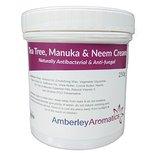 Tea Tree, Manuka & Neem Cream 250g - Antibacterial & Anti-fungal Skin Cream