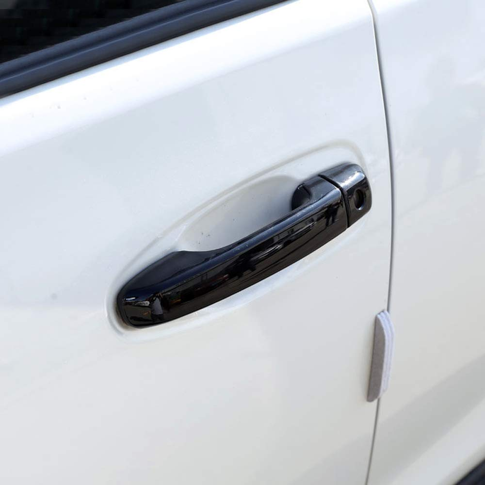 With Keyhole Chrome Door Handle Cover Trim For Toyota 4Runner N280 2010-2019