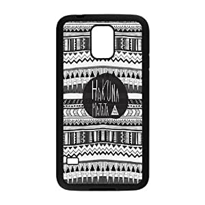 Custom High Quality WUCHAOGUI Phone case Hakuna Matata - The Lion King Protective Case For Samsung Galaxy S5 - Case-9