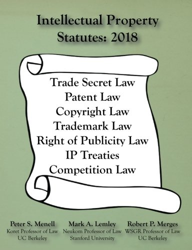 Intellectual Property Statutes 2018