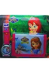 Princess Sophia Watch & Wallet Set - Brand New