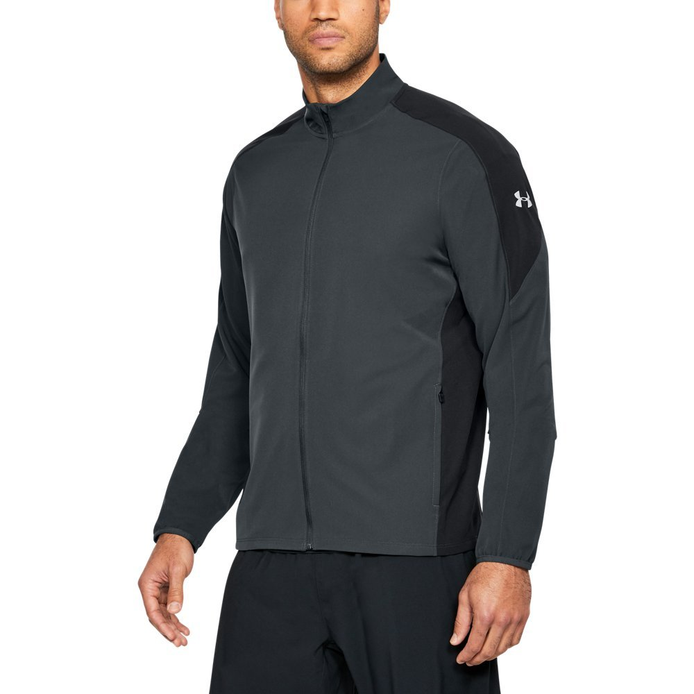 Under Armour Men's Storm Out & Back Jacket, Anthracite (016)/Reflective, Small