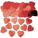 Confetis corazones rojos 14g