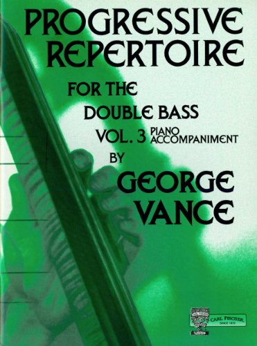 O5463 - Progressive Repertoire for the Double Bass, Vol.3