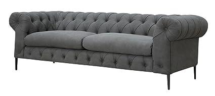 Amazon.com: Canal Sofa Grey Dimensions: 94