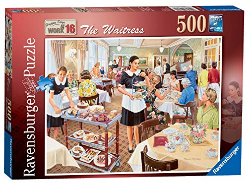 (Ravensburger Happy Days at Work No.16 - The Waitress 500pc Jigsaw Puzzle)