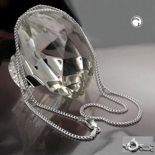 Bijoux Cha/îne argent 925 gourmette 60 cm
