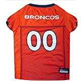 Pets First DBJ-XS Denver Broncos NFL Dog Jersey - Extra Small