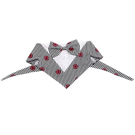 Balacoo Traje para Perro Corbata con Forma de triángulo ...